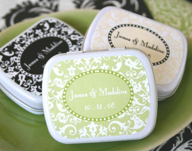 Lembrancinhas de casamento - porta sabonete James & Madeline.Fonte da imagem: Reprodução/High Society Wedding