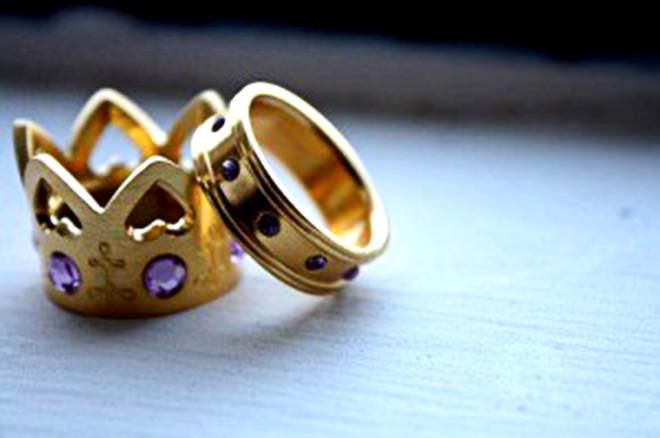 Aliança de Casamento super luxuosa *-*Fonte da imagem: Reprodução/Los Abalorios