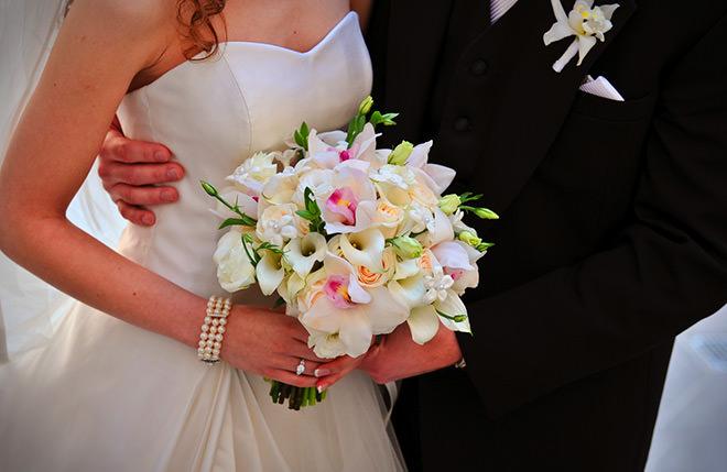 Buquê de noiva super meigo e delicado.Fonte da imagem: Reprodução/EZFlowers