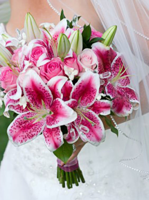 Adoro flores pink, um arraso.Fonte da imagem: Reprodução/Flower Arrangement Advisor