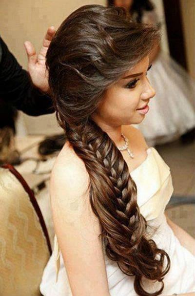 Penteados para noivas de cabelos longos