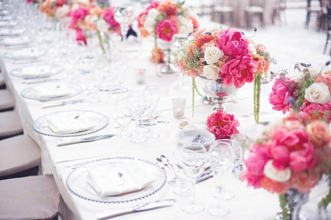 Como Organizar um Casamento: Flores dão um charme a mais.Fonte da imagem: Reprodução/BRIDEA