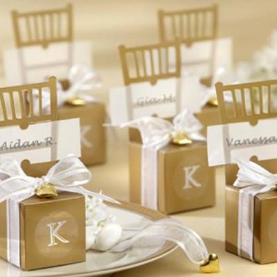 Como Organizar um Casamento: O que vale é o mimo para o convidado.Fonte da imagem: Reprodução/wedding favors of distinction