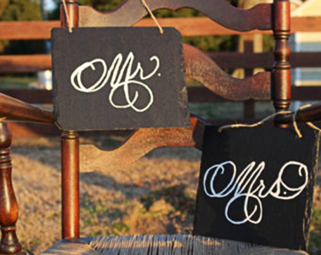 Decoração de Casamento suuuper elegante, amei.Fonte da imagem: Reprodução/Etsy
