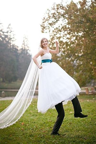Super divertida essa Foto de Casamento, rs.Fonte da imagem: Reprodução/BuzzFeed