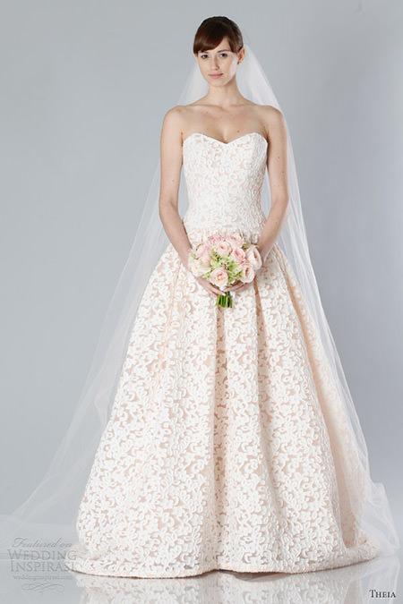 Que vestido de noiva meigo, amei.Fonte da imagem: Reprodução/WEDDING INSPIRASI