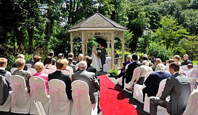 Lugar para Mini Wedding bem charmoso e romântico.Fonte da imagem: Reprodução/Best Western