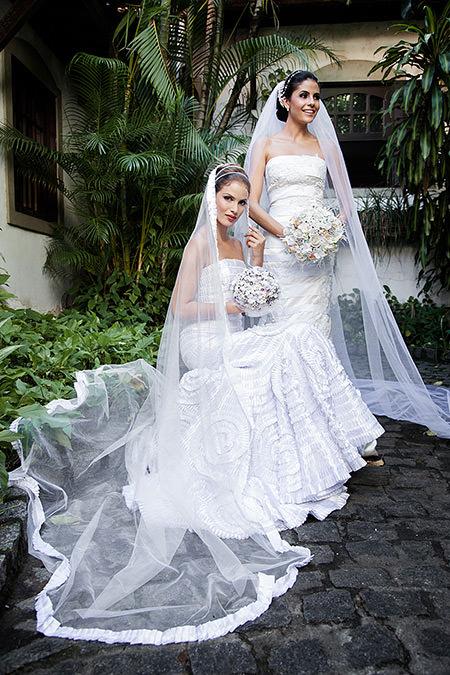 Modelos Rya Carolina e Iully Thaisa.Créditos da imagem: Jan Souza/Carlos Patino