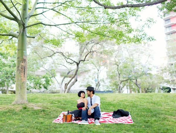 Super fácil achar um canto na cidade que tenha um gramado lindo como esse