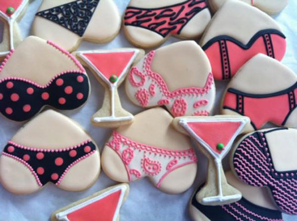 Já quero um chá de casa nova de lingerie AGORA pra fazer esses biscoitinhos! IN LOVE