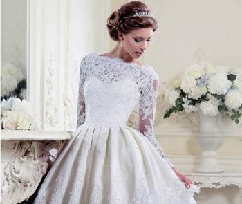 Vestidos de Noiva Curtos: 17 Inspirações para Arrasar e Sair do Tradicional