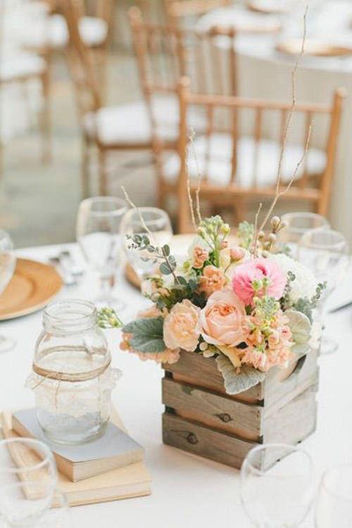 Alguém me convida pra um casamento que tem esse centro de mesa? Muito lindo!!