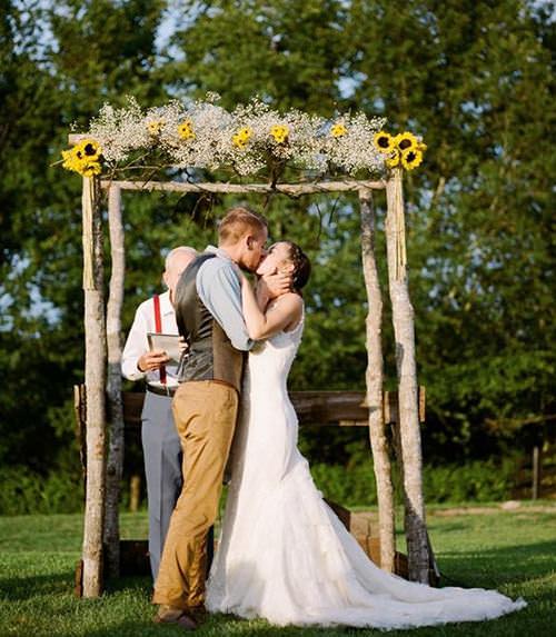 Me apaixonei pelas flores amarelinhas, ficaram super simpáticas