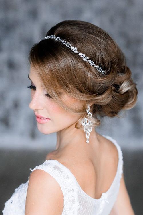 Essa tiara vai ficar perfeita com um véu