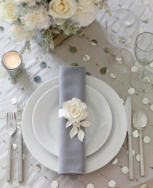 Já quero arrumar minha mesa de jantar com porta guardanapos rs