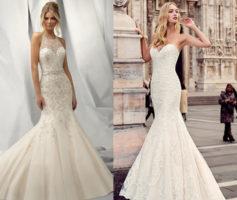 Vestidos de Noiva Sereia: 14 Inspirações que vão te deixar uma Perfeitamente Linda