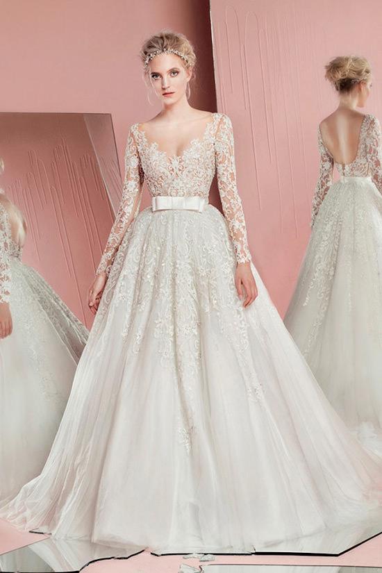 Vestidos de Noiva Princesa de Renda são muito perfeitos *-*