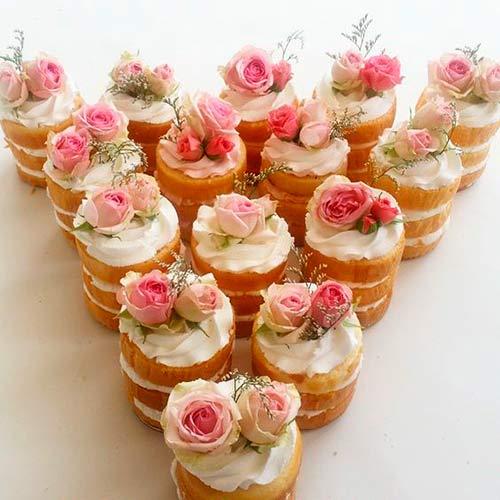 Só eu amei esse mini naked cake? Já quero!!